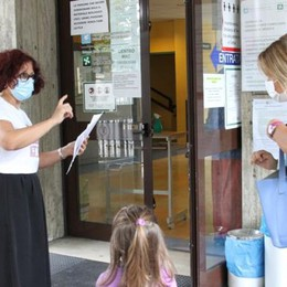 Bambini raffreddati in attesa al Centro prelievi di Codogno per il tampone ma L'Ats non ha avvertito l'Asst