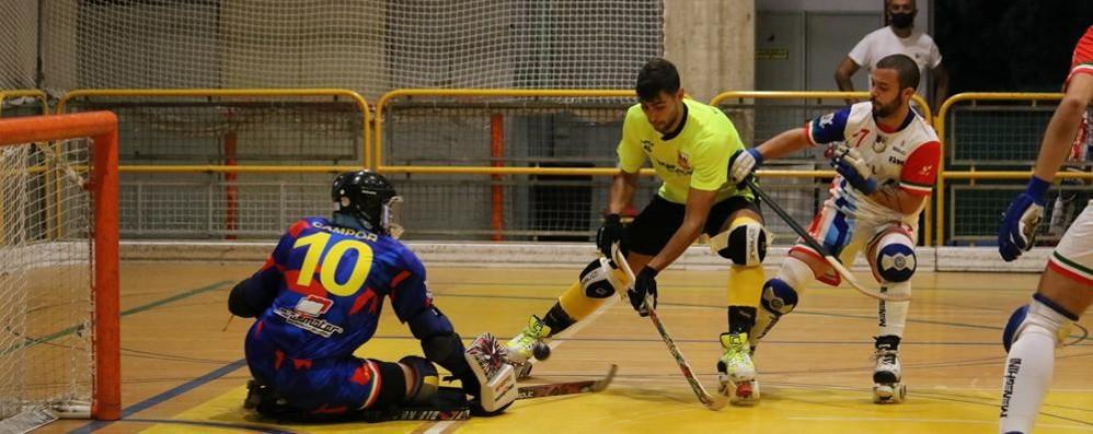 Hockey, è  un Amatori che sa già rimontare