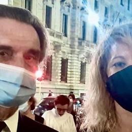 La dedica del presidente Fontana   all'anestesista Annalisa Malara