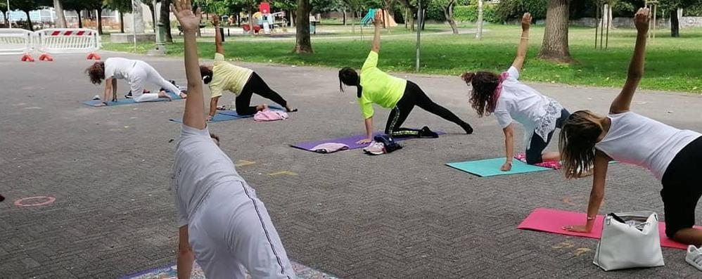 PAULLO Il parco diventa una maxi palestra all'aperto per le associazioni