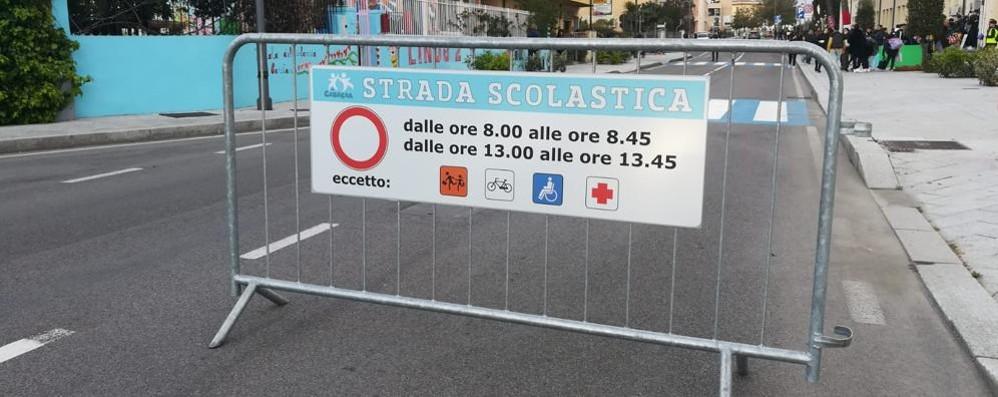 SAN DONATO Scuola, due strade chiuse  per la sicurezza dei ragazzi