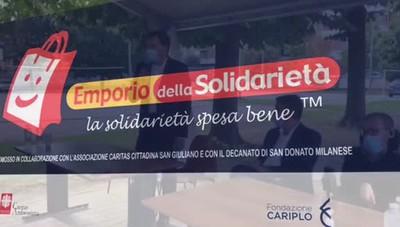 San Giuliano, inaugurazione dell'emporio solidale