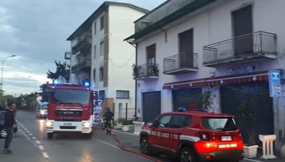 Appartamento a fuoco a Torretta
