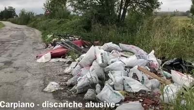 San Giuliano, tornano le discariche abusive