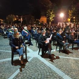 """San Martino ricorda le 33 vittime del Covid «Le """"nostre stelle"""" ci guardano»"""