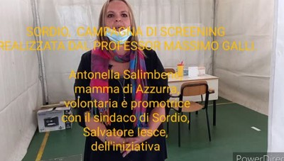 Sordio, partita la campagna di screening