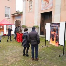 Casale, fuoco virtuale per Sant'Antonio