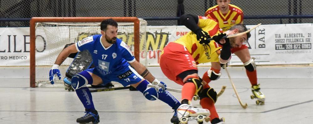 Hockey, Bresciani tira la fuga dell'Amatori