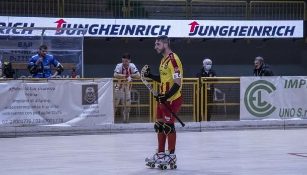 Hockey, l'Amatori brilla con la perla numero 300 di Illuzzi