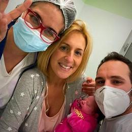 Il panettiere solidale diventa papà: il giorno di San Bassiano è nata Emily