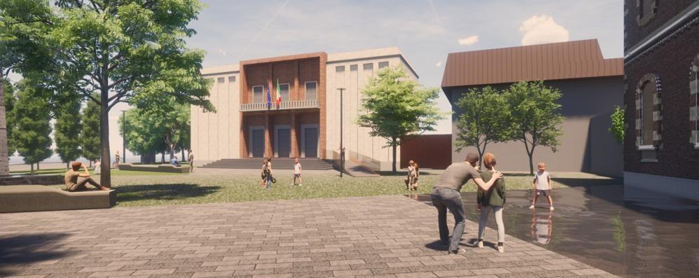 Paullo presenta il nuovo look del centro con una piazza all'ultima moda