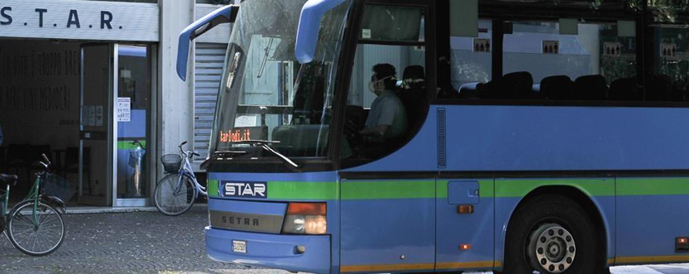 SANT'ANGELO Aggredito autista bus