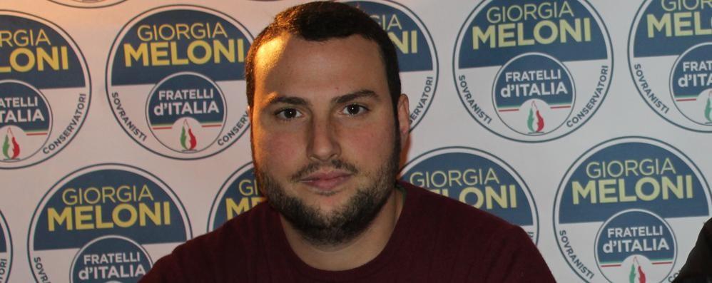 Bufera su Omar Lamparelli, il segretario di Fratelli d'Italia si è dimesso