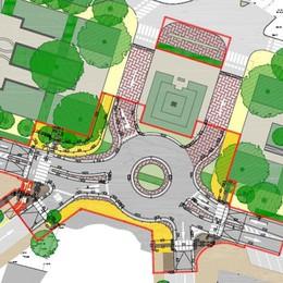 LODI Piazzale Medaglie d'oro, ecco come sarà la nuova rotonda finanziata da Esselunga