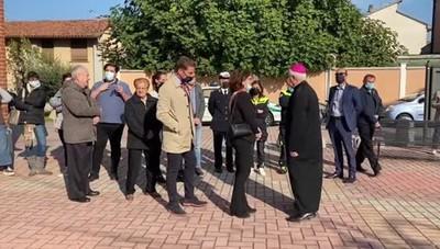 Borgo, l'ingresso del nuovo parroco