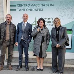 LODI Farmacie comunali, un nuovo centro tamponi in attesa di somministrare i vaccini