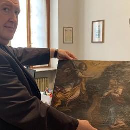 Casale, recuperata la tela dell'Annunciazione rubata nella parrocchiale