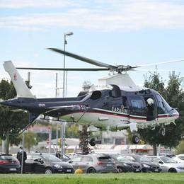 Operazione dei carabinieri, un elicottero nei cieli del Lodigiano. Guarda le immagini riprese dall'alto