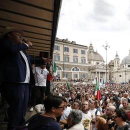 Scontri di Roma, parlano i no green pass lodigiani presenti alla manifestazione