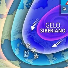 Arriva il gelo siberiano, per domenica e lunedì notte cinque sotto zero