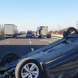 Due incidenti in mezz'ora sull'Autostrada del Sole e sulla provinciale 107 a San Martino
