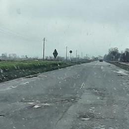 Troppe buche non riparate: sulla provinciale 412 Valtidone in provincia di Pavia scatta il limite di 50 all'ora