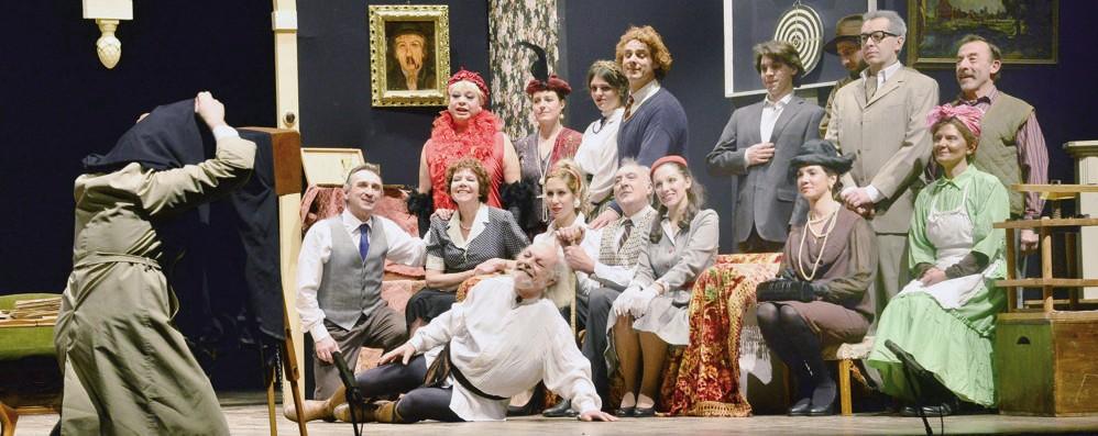 Applausi virtuali per il Pioppo in scena (e sul web) al teatro alle Vigne
