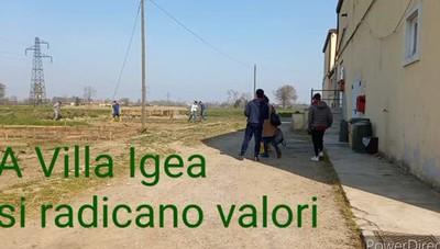 A Villa Igea si radicano valori