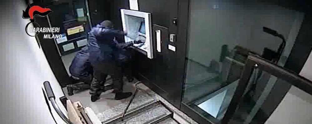 Banda dei Bancomat, scattano gli arresti - VIDEO