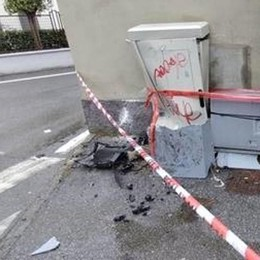 Cabina telefonica danneggiata, problemi alle linee in zona Selvagreca
