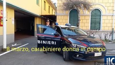 Carabinieri, una donna in prima linea