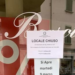 Casale, norme Covid violate: chiusi negozio di scarpe e macelleria