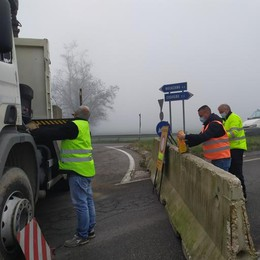 Castiglione, lavori di ampliamento: la provinciale 591 chiude per 4 mesi
