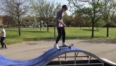 Codogno, un successo la nuova pista di skateboard