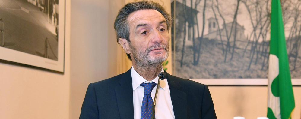 COVID Fontana: «La Lombardia resta zona gialla»