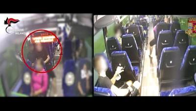 Furti e rapine su bus e treni