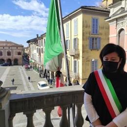 Giornata della memoria Covid, minuto di silenzio in Broletto a Lodi
