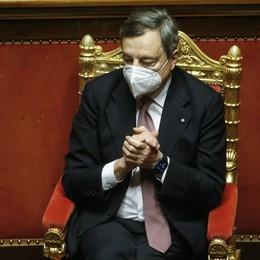 Governo Draghi, fiducia con 535 sì alla Camera