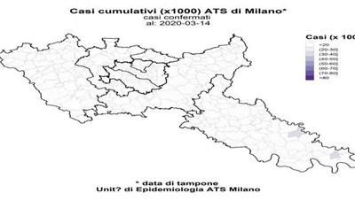 Il film del contagio nel Lodigiano e nel Milanese