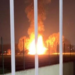 Incendio tra Peschiera e Mediglia, è mistero sulle cause