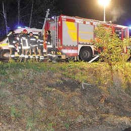Incidente sulla via Emilia fra Cavenago e San Martino