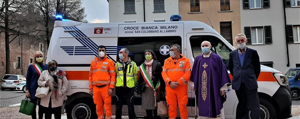 La nuova ambulanza della Bianca sarà dedicata a Tosi e Gazzaniga