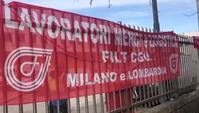 Lo sciopero blocca Amazon anche a Peschiera