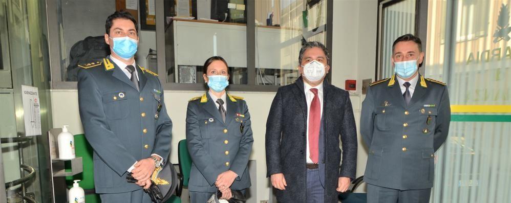 Lodi, il Prefetto Montella in visita alla Finanza: «Guardia alta contro le infiltrazioni criminali nell'economia»