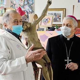 LODI «Papa Francesco mi ha fatto pensare a voi»