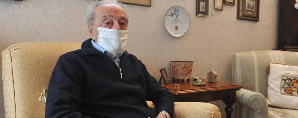 Lodi, tornò a piedi dalla Russia: a 98 anni è il primo over 80 a vaccinarsi