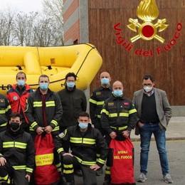 MONTANASO Vigili del fuoco più esperti per i salvataggi nell'acqua