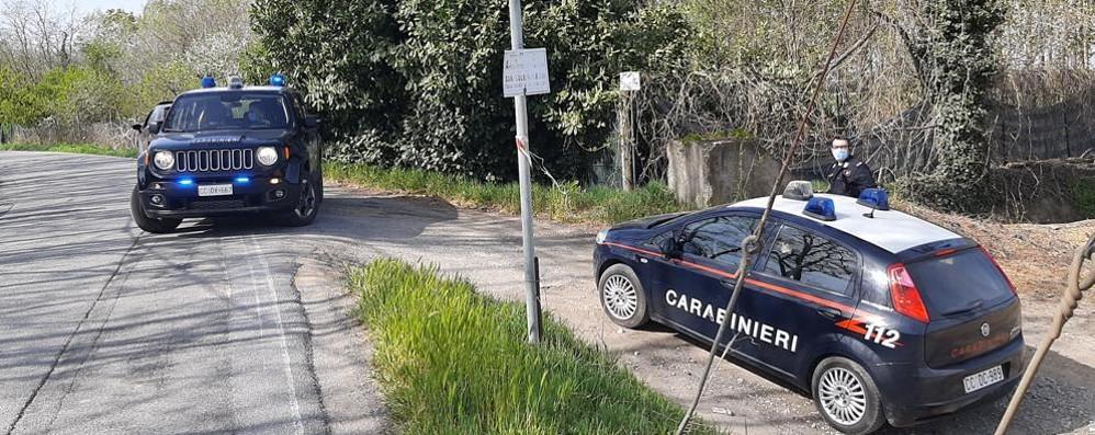 SAN COLOMBANO Inseguimento in auto e a piedi, bloccato uno spacciatore