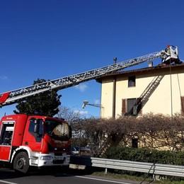San Giuliano, fiamme alla Rampina