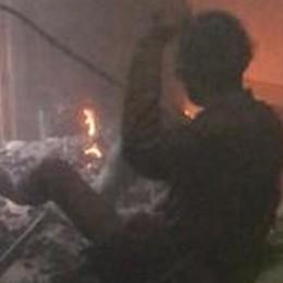 San Giuliano, occupa abusivamente una villa e appicca il fuoco